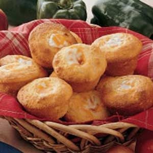 Cheesy Corn Muffins Recipe