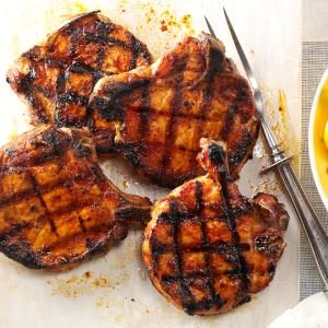 Ultimate Grilled Pork Chop