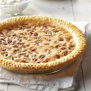 Raisin Pecan Pie