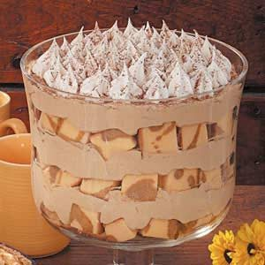 Cappuccino Mousse Trifle Recipe