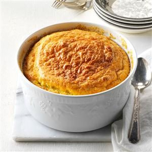 Corn & Onion Souffle Recipe
