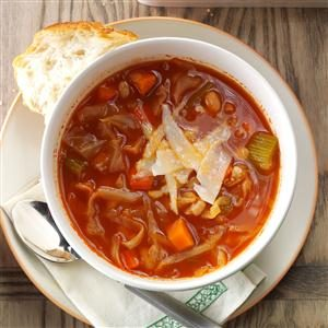 Italian Cabbage Soup Recipe