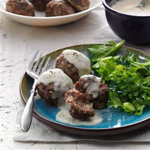 Danish Meatballs with Pan Gravy