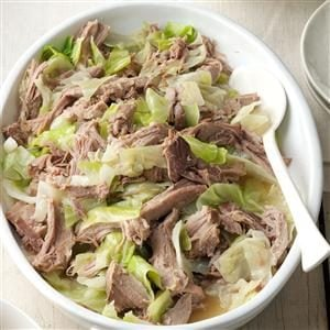 Slow Cooker Kalua Pork & Cabbage Recipe