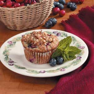 Berry Pleasing Muffins Recipe