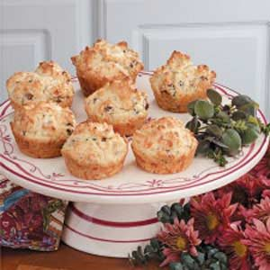 Sausage Swiss Muffins Recipe