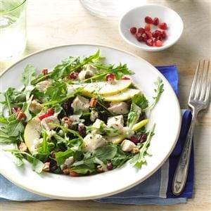 Turkey Salad with Pear Dressing Recipe