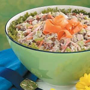 Lentil Chicken Salad Recipe