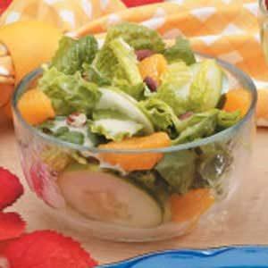 Pecan Mandarin Salad Recipe