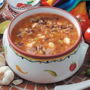 Black Bean and Chicken Soup