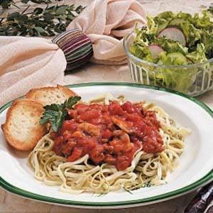 Basil Pasta Sauce Recipe