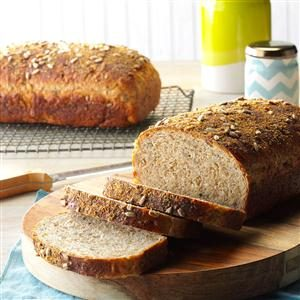 Wild Rice Bread with Sunflower Seeds Recipe
