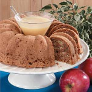 Apple Bundt Cake