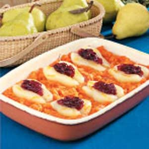 Sweet Potato Pear Bake Recipe