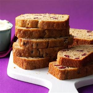 Spicy Applesauce Fruit Bread Recipe