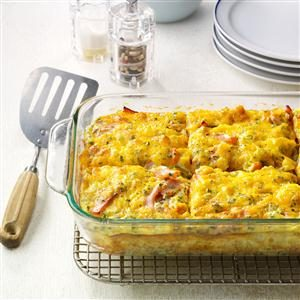 Loaded Tater Tot Bake
