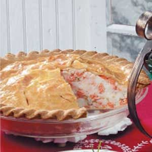 New England Salmon Pie Recipe