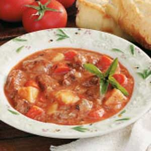 Easy Oven Beef Stew Recipe
