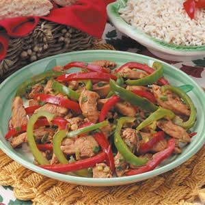 Gingered Chicken Stir-Fry Recipe
