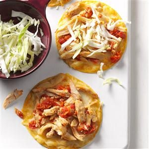 Baked Chicken Chalupas Recipe