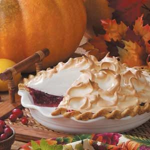 Cranberry Meringue Pie Recipe