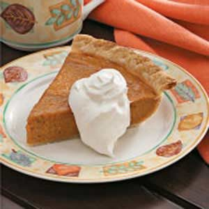 Light Sweet Potato Pie