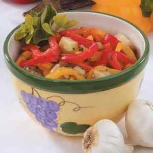 Eggplant Pepper Relish Recipe