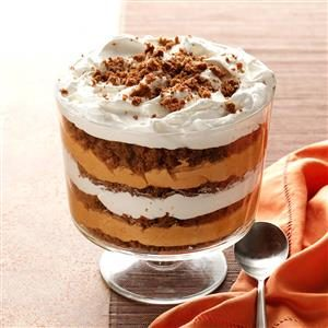 Pumpkin-Butterscotch Gingerbread Trifle Recipe