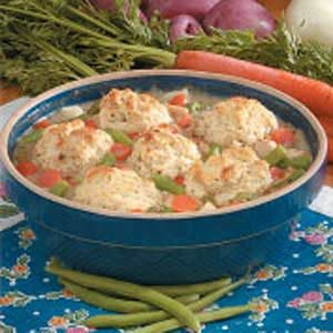 Turkey Biscuit Potpie Recipe