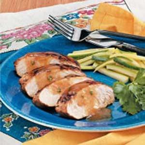 Peppery Herbed Turkey Tenderloin Recipe