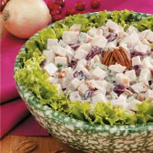Cranberry-Chutney Turkey Salad Recipe