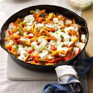 Spicy Veggie Pasta Bake Recipe