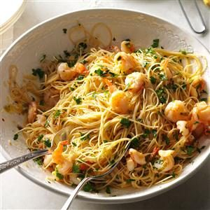 Light & Lemony Scampi