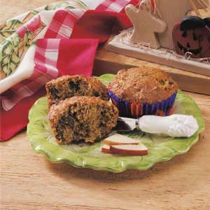 Apple Wheat Muffins Recipe