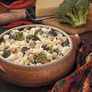 Broccoli Bean Pasta Recipe