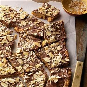 Coconut-Almond Cookie Bark Recipe