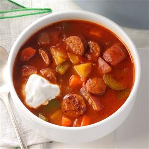 Andouille Sausage Soup Recipe