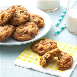 Bacon & Walnut Chocolate Chip Cookies