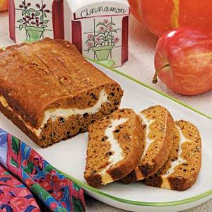 Ribbon Pumpkin Bread
