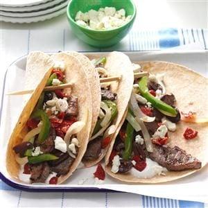 Feta Steak Tacos Recipe