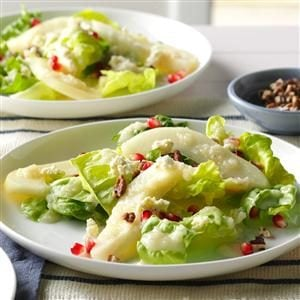 Pear & Pomegranate Salad