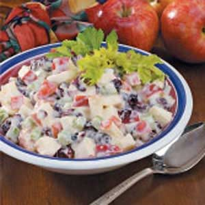 Cran-Apple Waldorf Salad Recipe