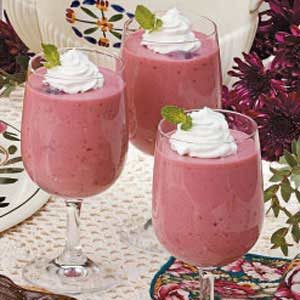 Black Cherry Cream Parfaits Recipe