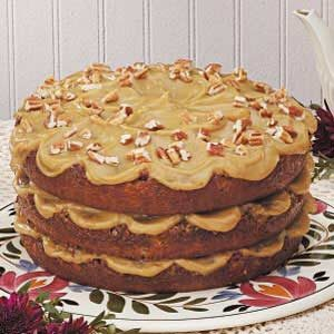 Layered Pecan Torte Recipe