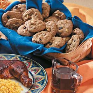 Molasses Raisin Cookies
