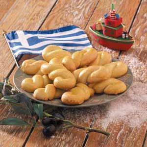 Greek Holiday Cookies Recipe