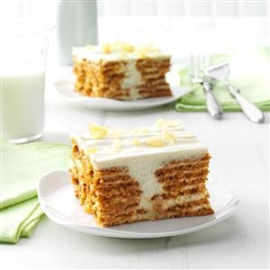 Lemon Ginger Icebox Cake Recipe
