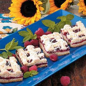 Frosted Raspberry Bars