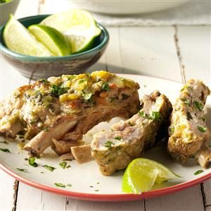 Green Chili Ribs