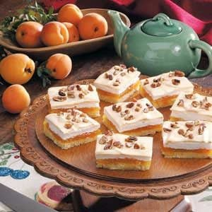 Apricot Meringue Bars Recipe